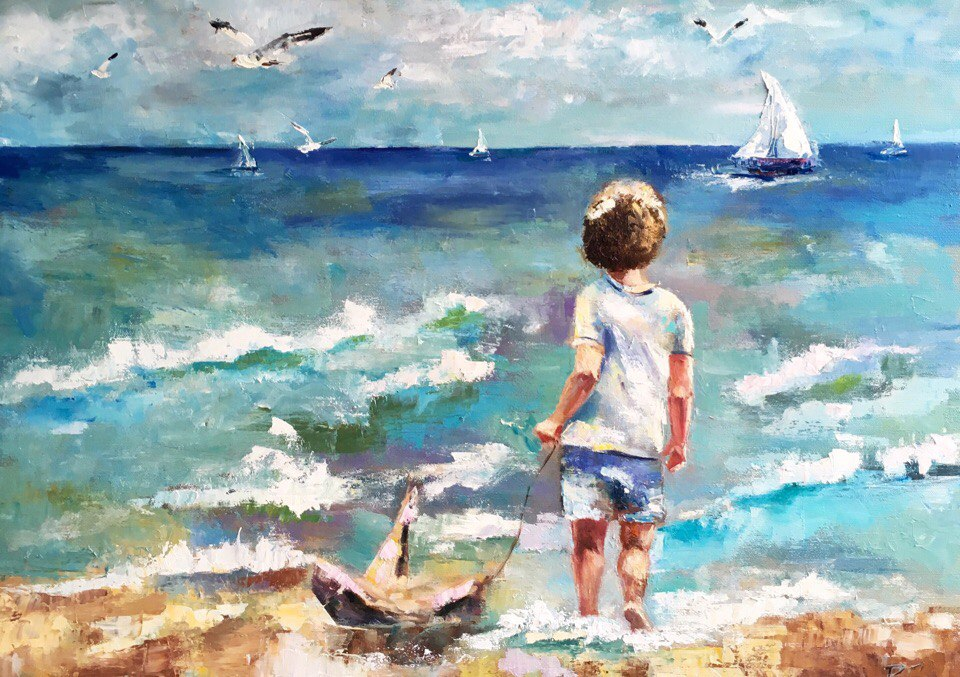 У моря картинки для детей